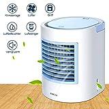 mobile klimagerät mobile klimaanlage mini klimaanlage Tragbarer Kühler, schnelle und einfache Möglichkeit zur Kühlung des persönlichen Raums, geeignet für Bett, Büro und Arbeitszimmer. USB-Laufwerk