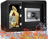 ETE ETMATE Security Safe Geldkassette, vertraulicher Aktenschrank Elektronisches Passwort Safe Alle Stahl-In-Wall-Home-Office-Safe