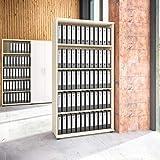 Weber Büro Uni Aktenschrank 5 OH Ahorn Schrank Büroschrank Regalschrank